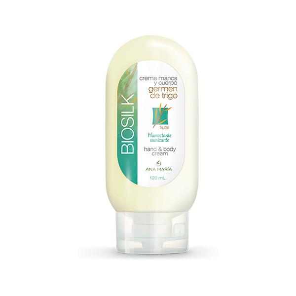 Crema Manos y Cuerpo con Germen de Trigo Biosilk tienda de la belleza