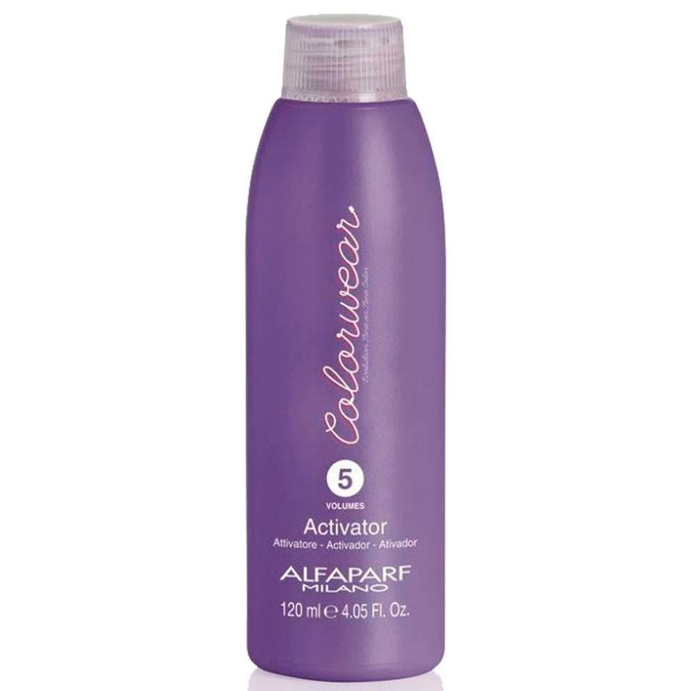Activador (peroxido) para tinte Colorwear Alfaparf Milano 5 volumenes 120 ml