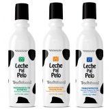 Tradicional Kit Ritual Para Cabello de 440 ml - Termoprotector + Reconstructor + Tratamiento en Shampoo Leche pal Pelo