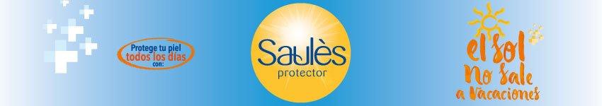 Protector-Bloqueador Solar - Pantalla Solar Saulès 50 Saulès