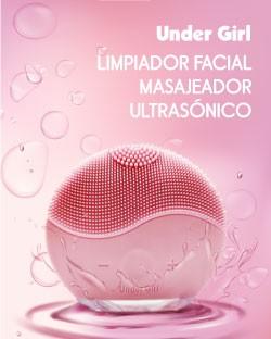 Limpiador facial masajeador ultrasónico Under Girl