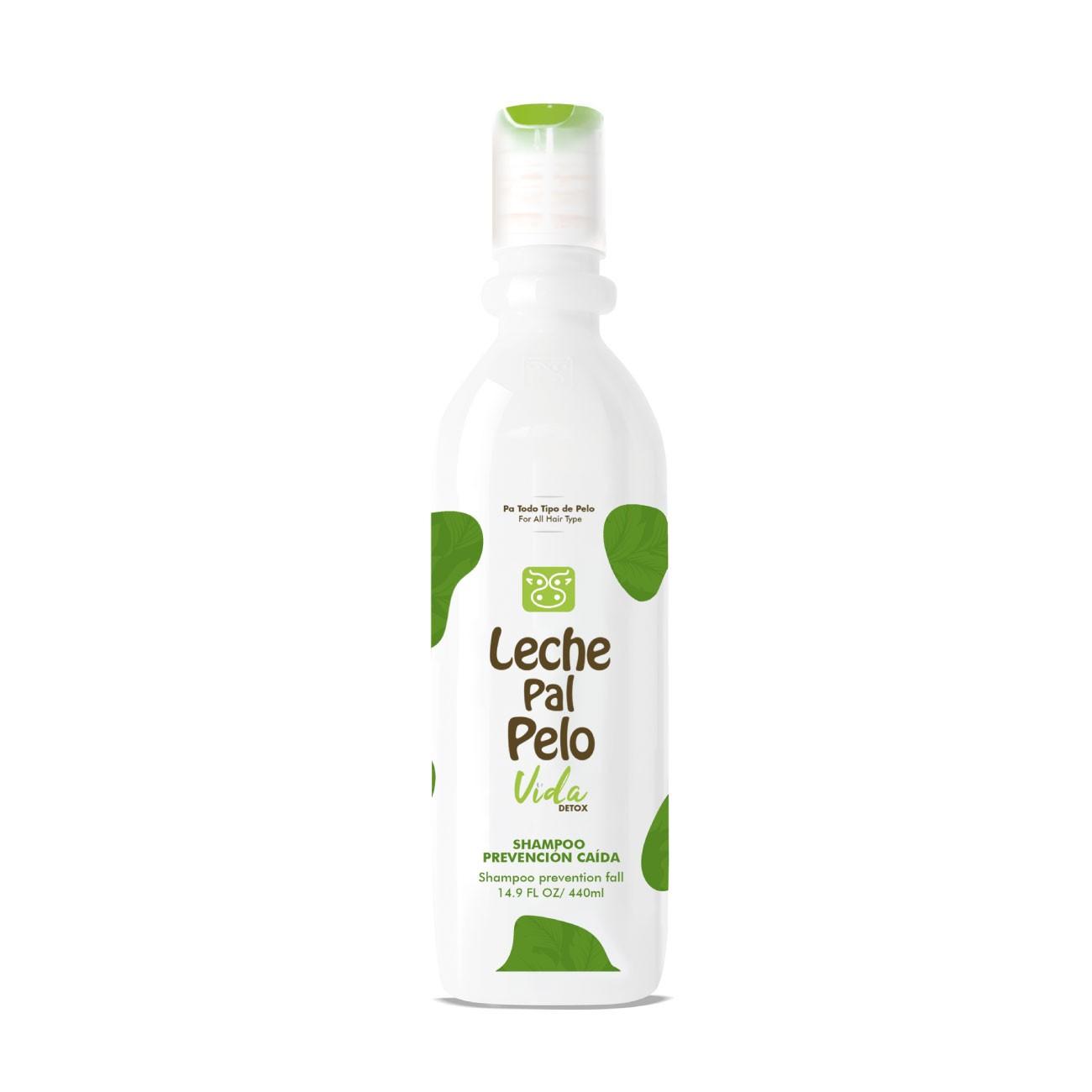 Vida Detox Shampoo Prevención Caída Leche Pal Pelo