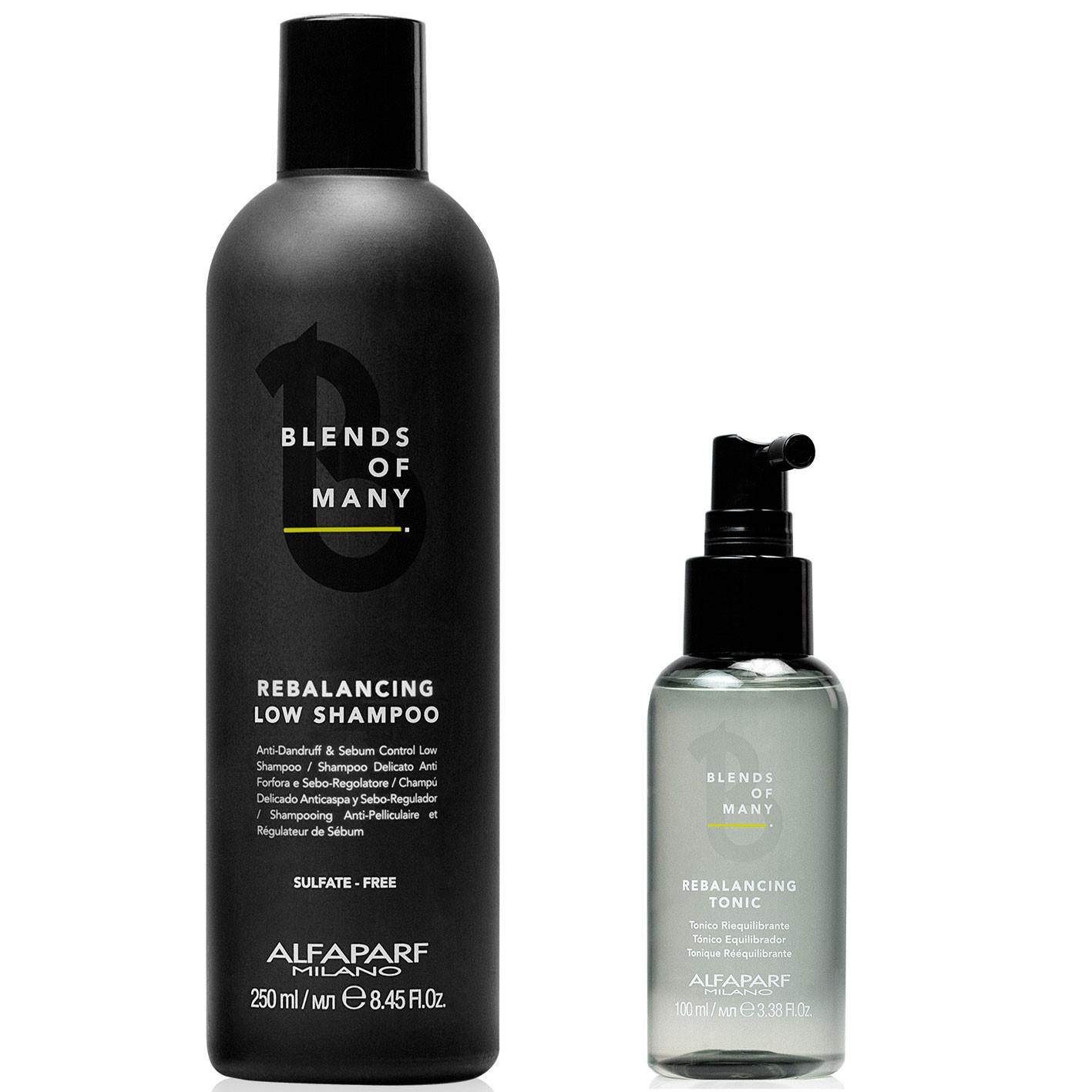 Blends of Many Kit Anticaspa - Antigrasa (Shampoo y Tónico) Alfaparf Milano