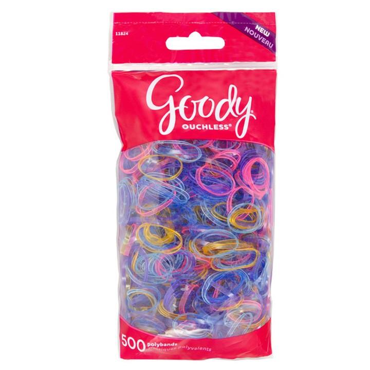 Elásticos Multicolor niñas x 500 unds Goody