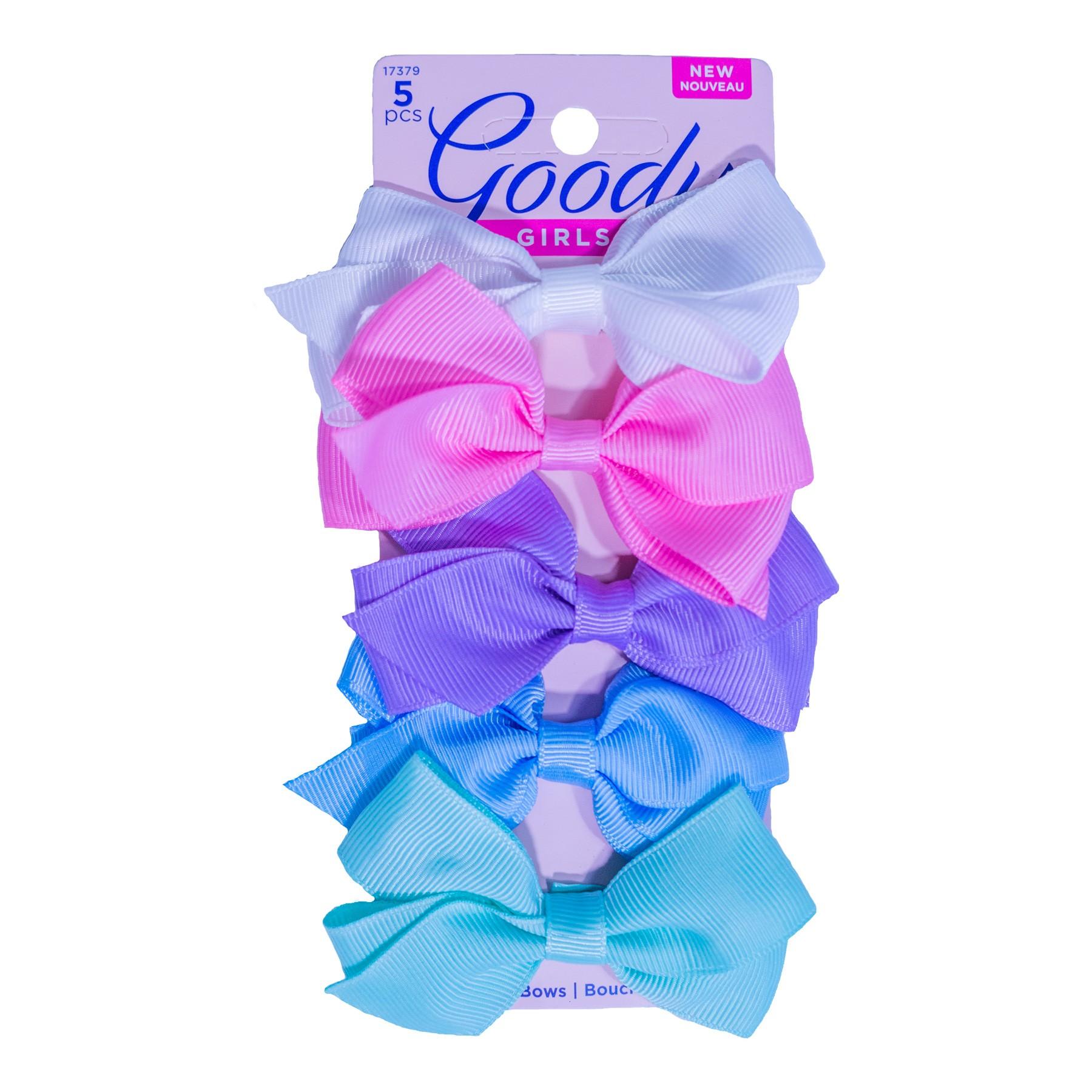 Hebillas Moño tela x 5 unds Goody