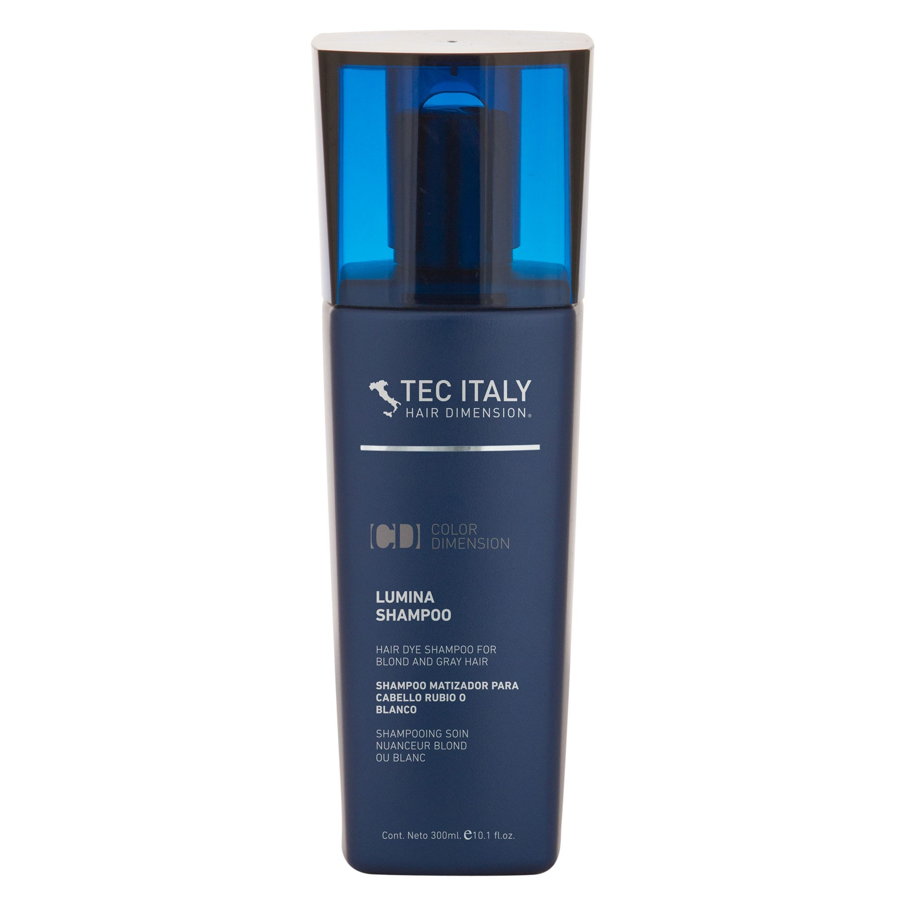 Shampoo Lumina Color Dimension Matizador Rubios Tec Italy Tienda de la Belleza