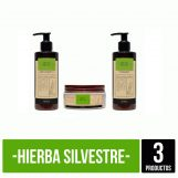 Kit Hierba Silvestre Completo Biosilk