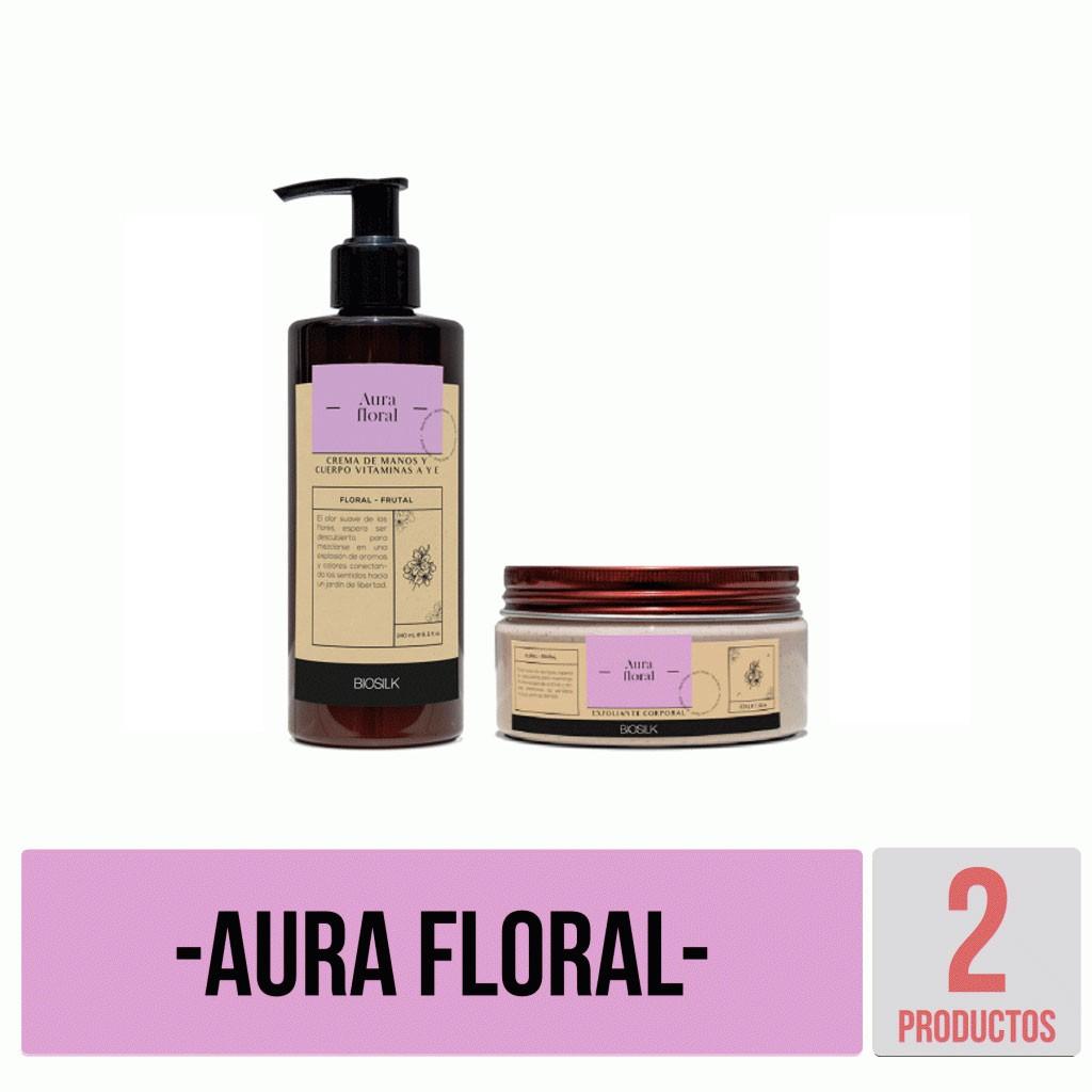Kit Aura Floral básico Biosilk