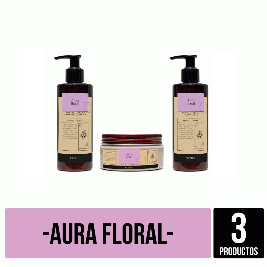 Kit Aura Floral completo Biosilk