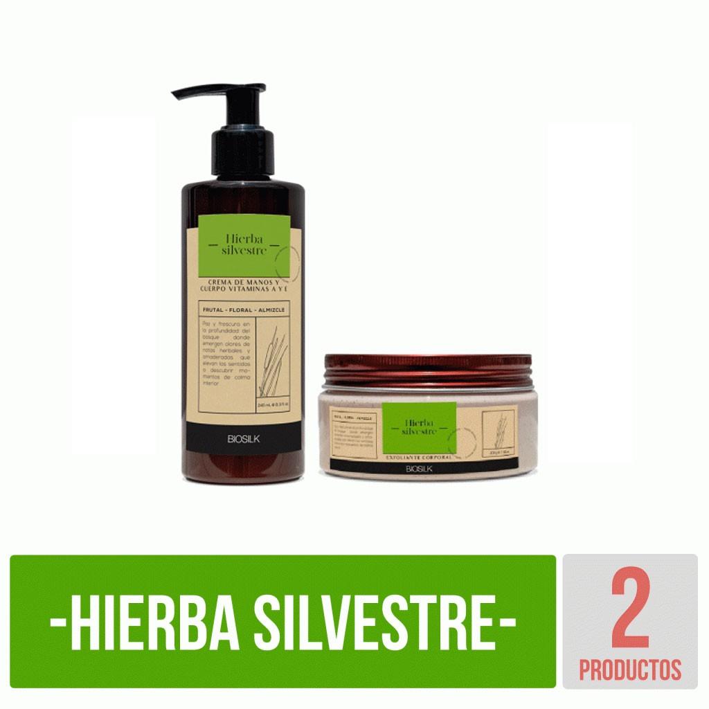 Kit Hierba Silvestre básico Biosilk