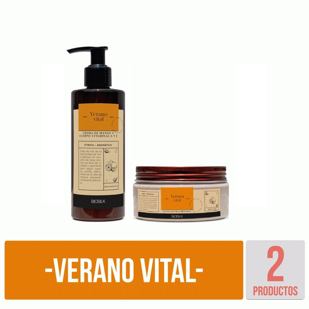 Kit Verano Vital básico Biosilk