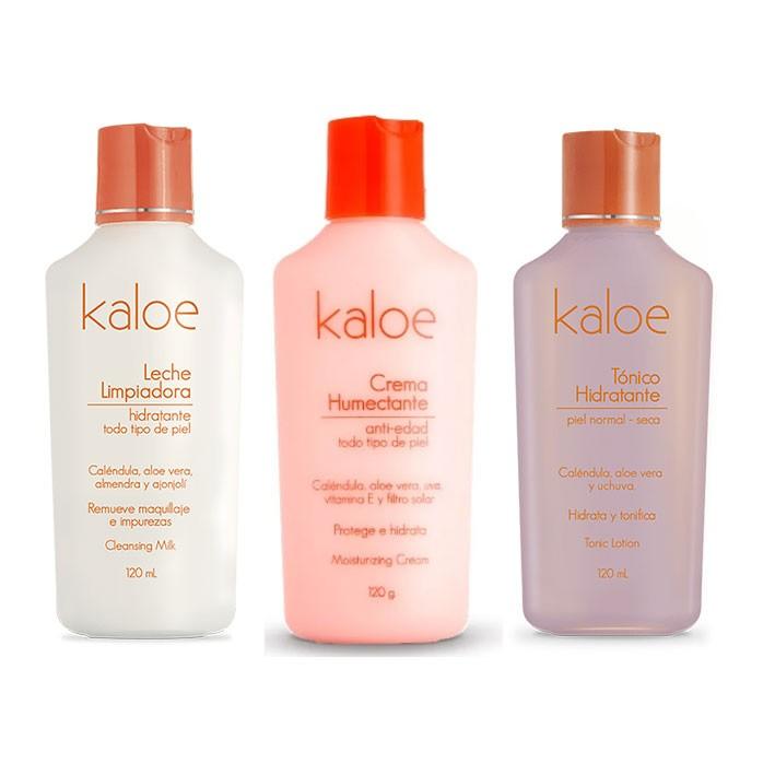 Kit Cuidado Piel Normal a Seca - Kaloe