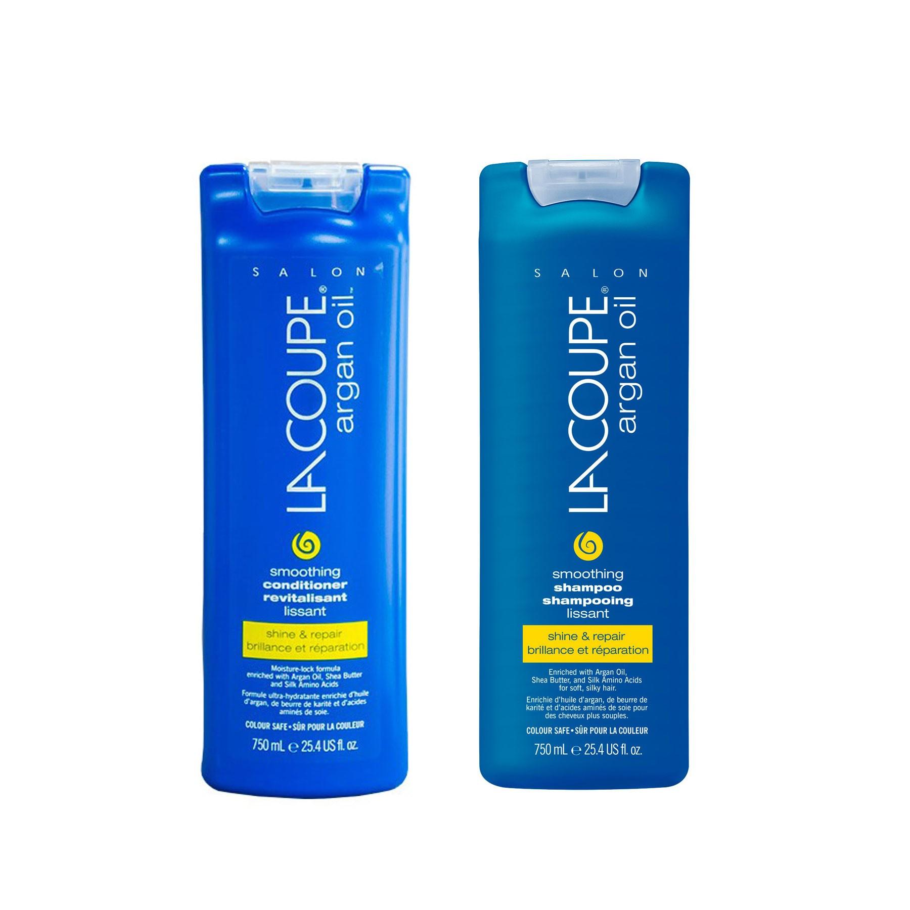 Kit Shampoo Aceite Argán - Acondicionador LaCoupe-Salón