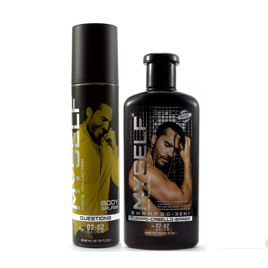 Kit Myself Shampoo 3 en 1 - Body Splash Questions