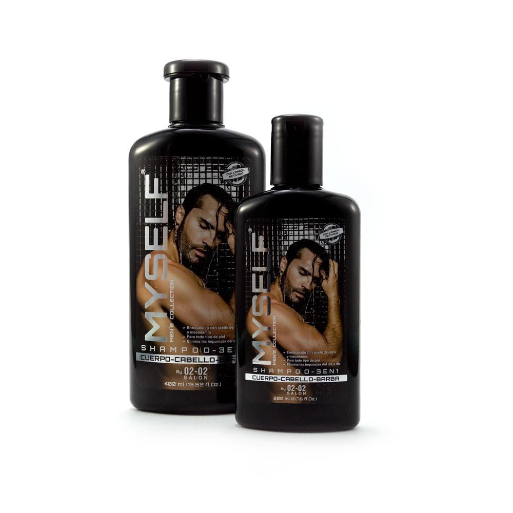 Shampoo 3 en 1 Myself