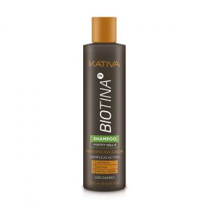 Biotina Anticaída Shampoo Fortify Kativa