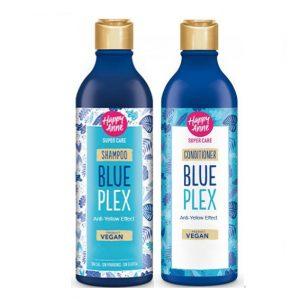 Kit Blue Plex Shampoo - Acondicionador Vegano Happy Anne