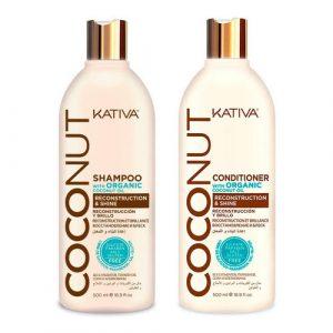 Kit Coconut Shampoo - Acondicionador Kativa