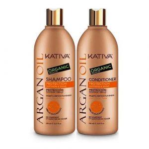 Kit Argan Oil Shampoo - Acondicionador Kativa