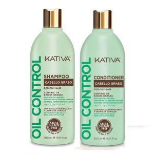 Kit Oil Control Cabello Graso Shampoo - Acondicionador Kativa